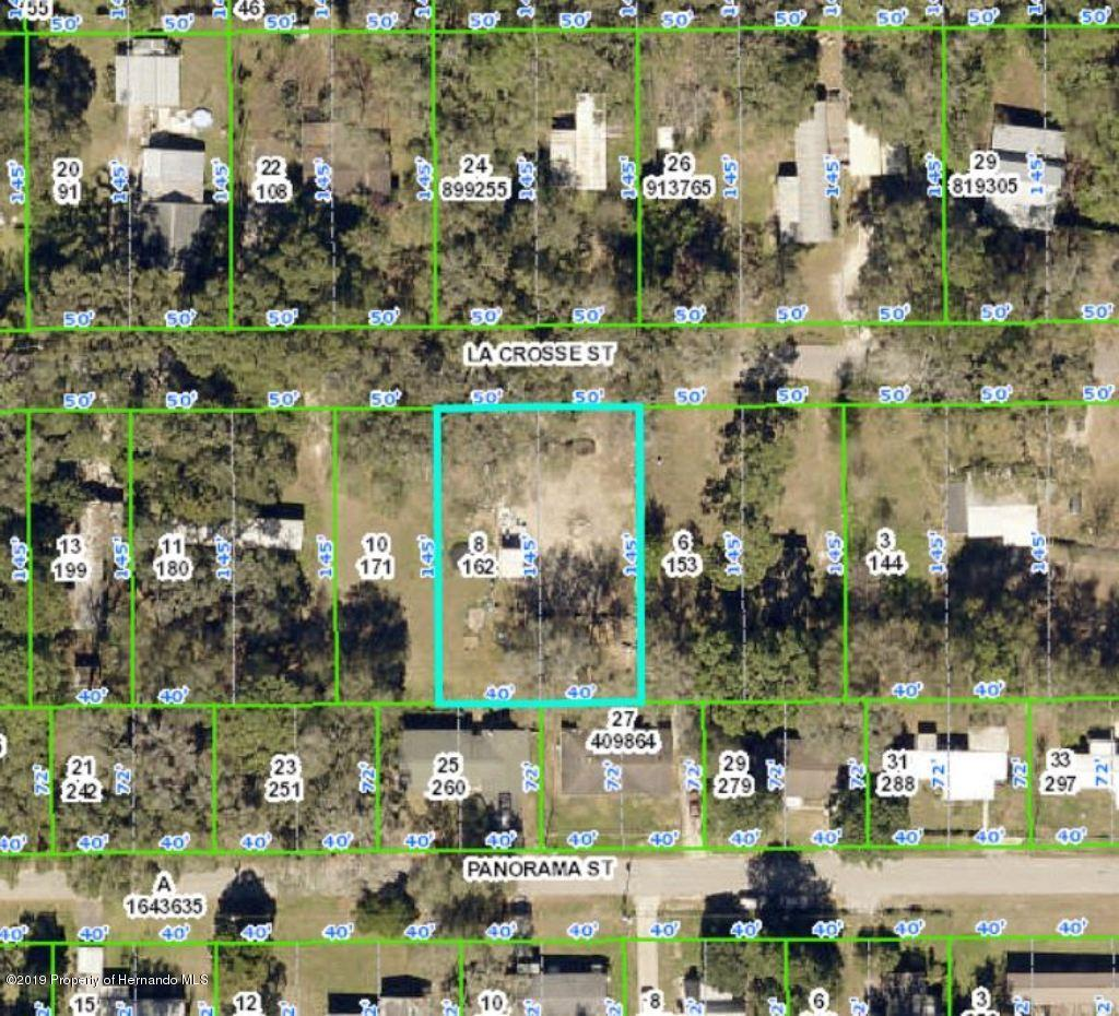 0 La Crosse Street, Brooksville, Florida 34601, ,Vacant land,For Sale,La Crosse,2206100