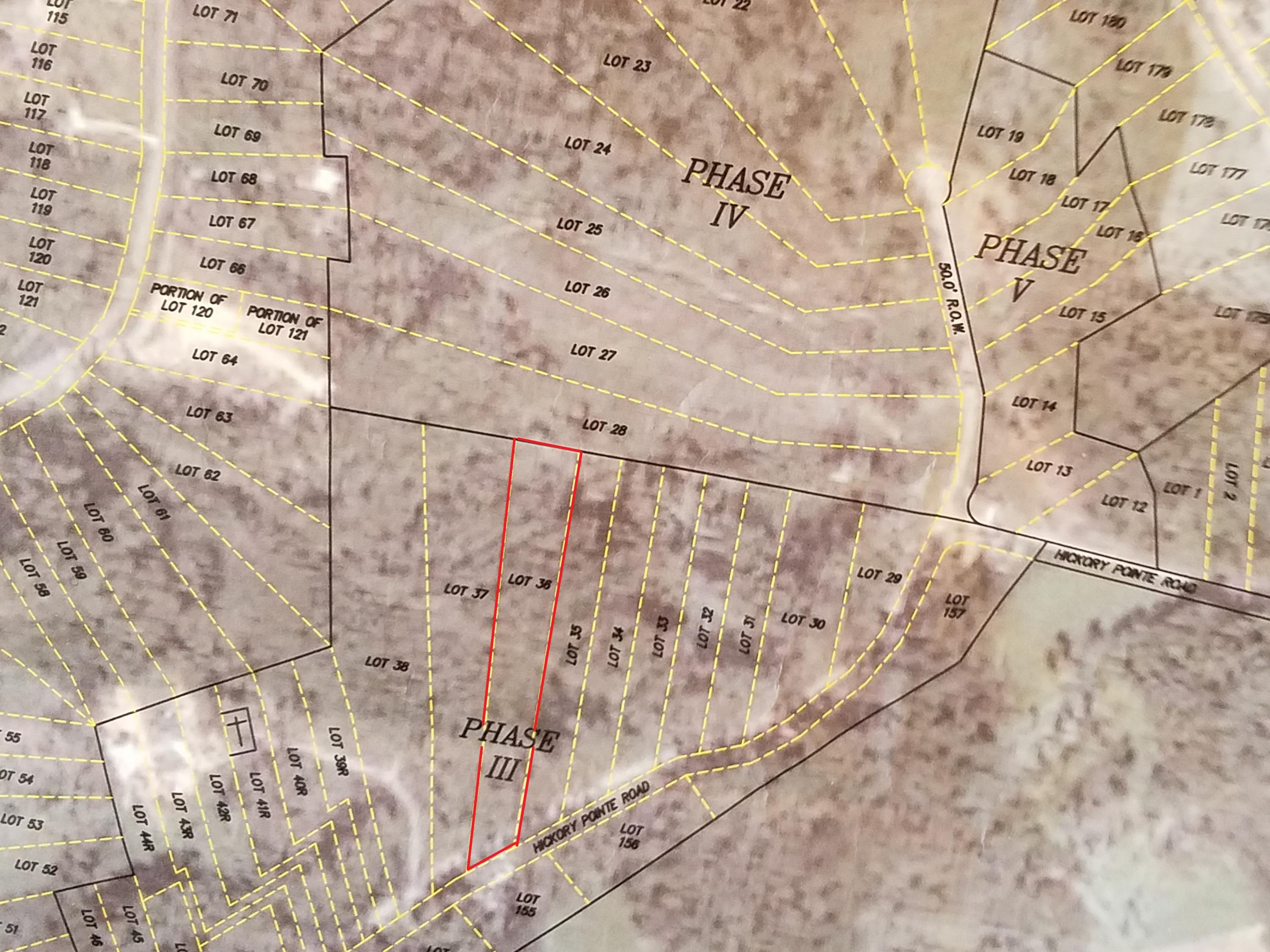 Lot 36 Hickory Pointe Ln: