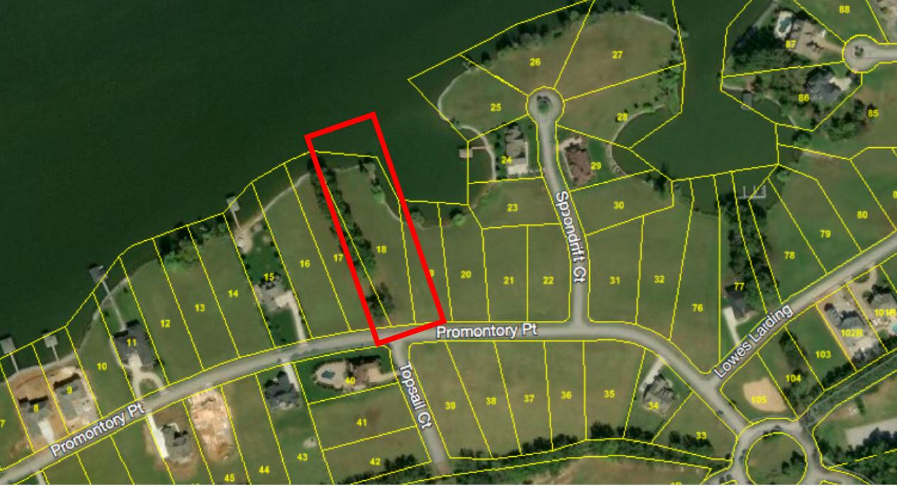 Lot 18 Promontory Point: