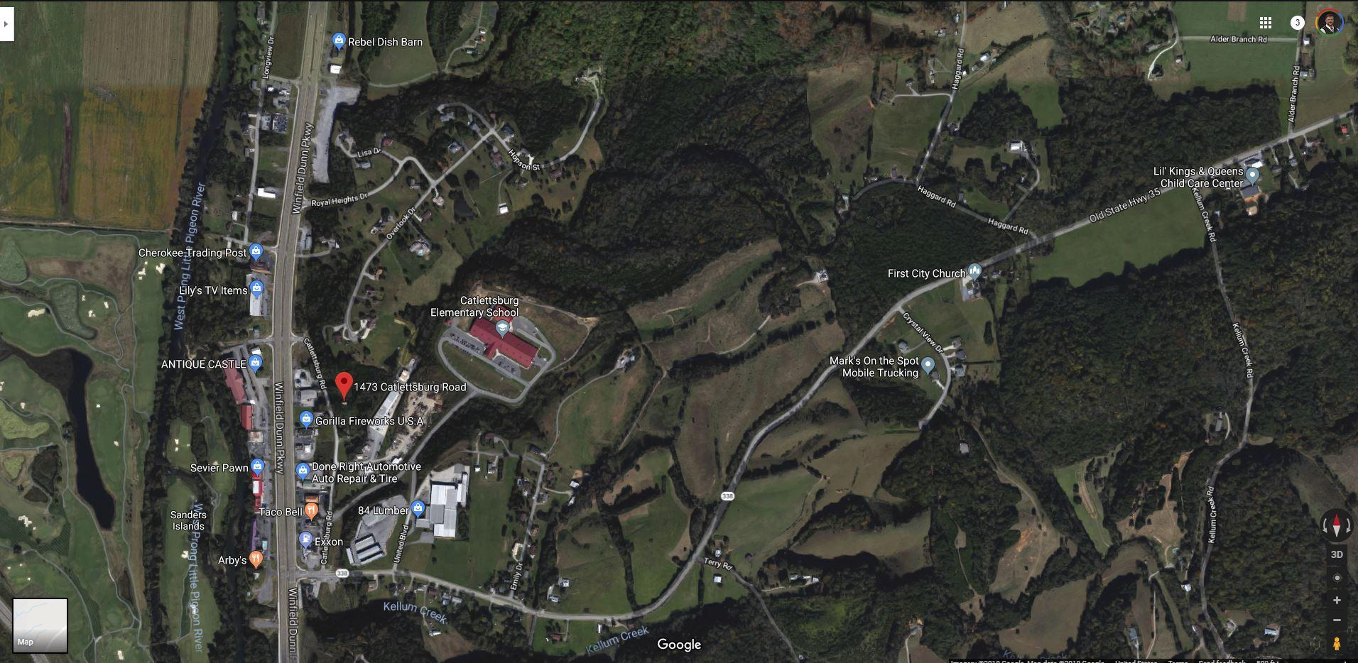 1473 Catlettsburg Rd, Sevierville, Tennessee 37876, ,Commercial,For Sale,Catlettsburg,1064132