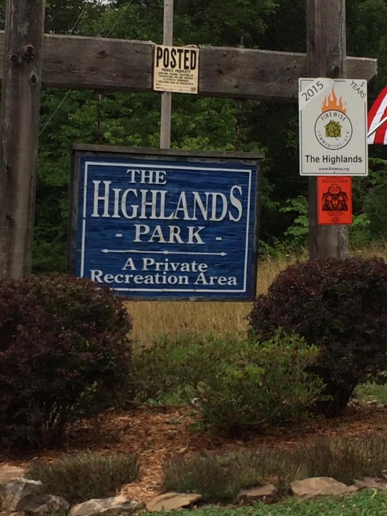 Highland Trace Rd: