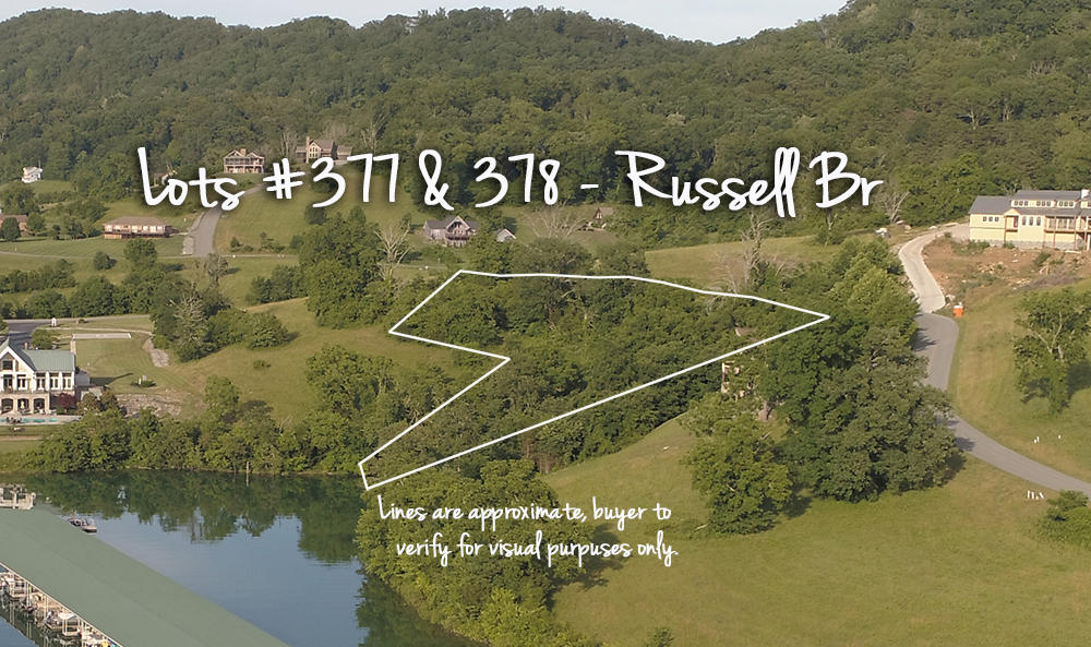 Lot 377 & 378 Russell Br: