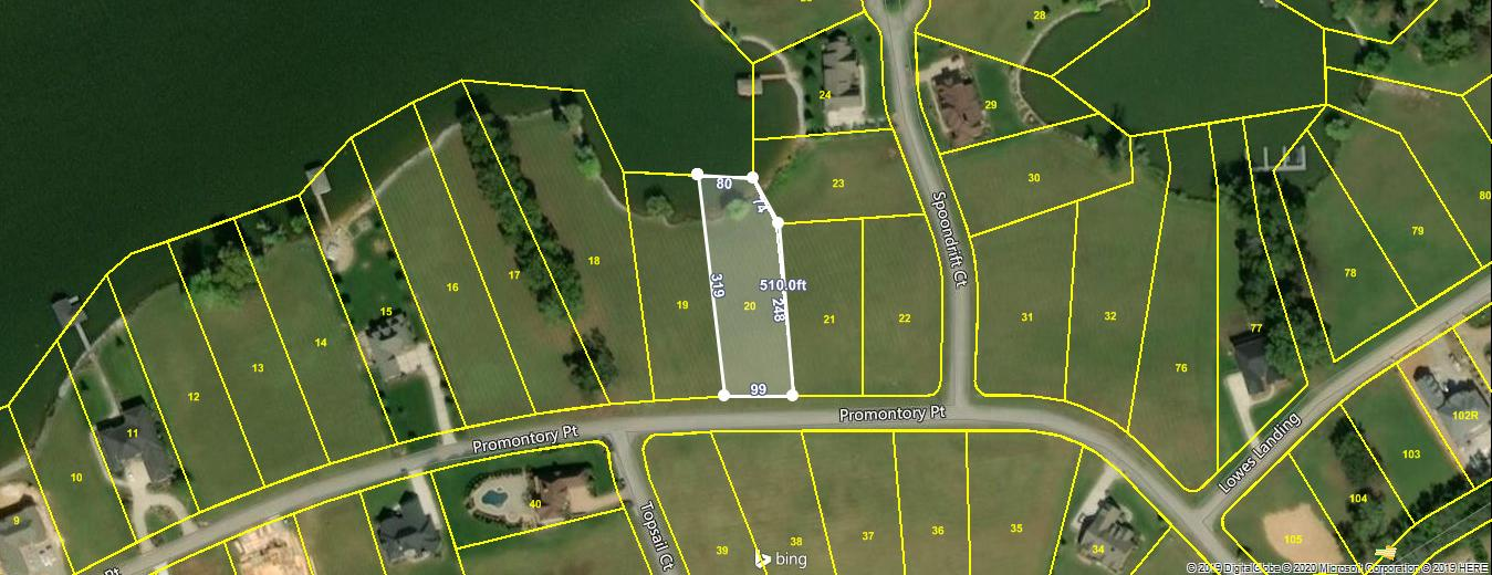 Lot 20 Promontory Point: