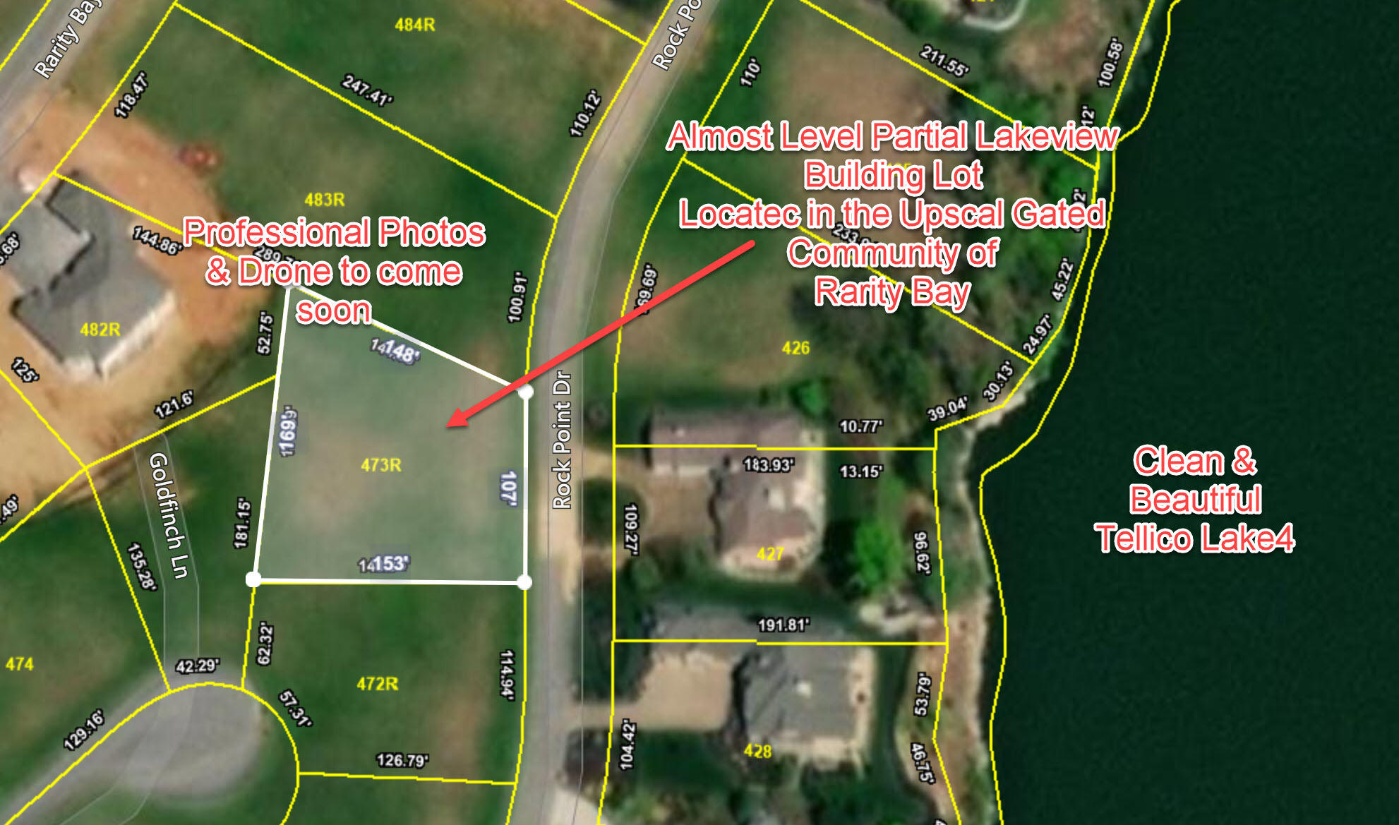 Rock Point, Vonore, Tennessee, United States 37885, ,Lots & Acreage,For Sale,Rock Point,1112534