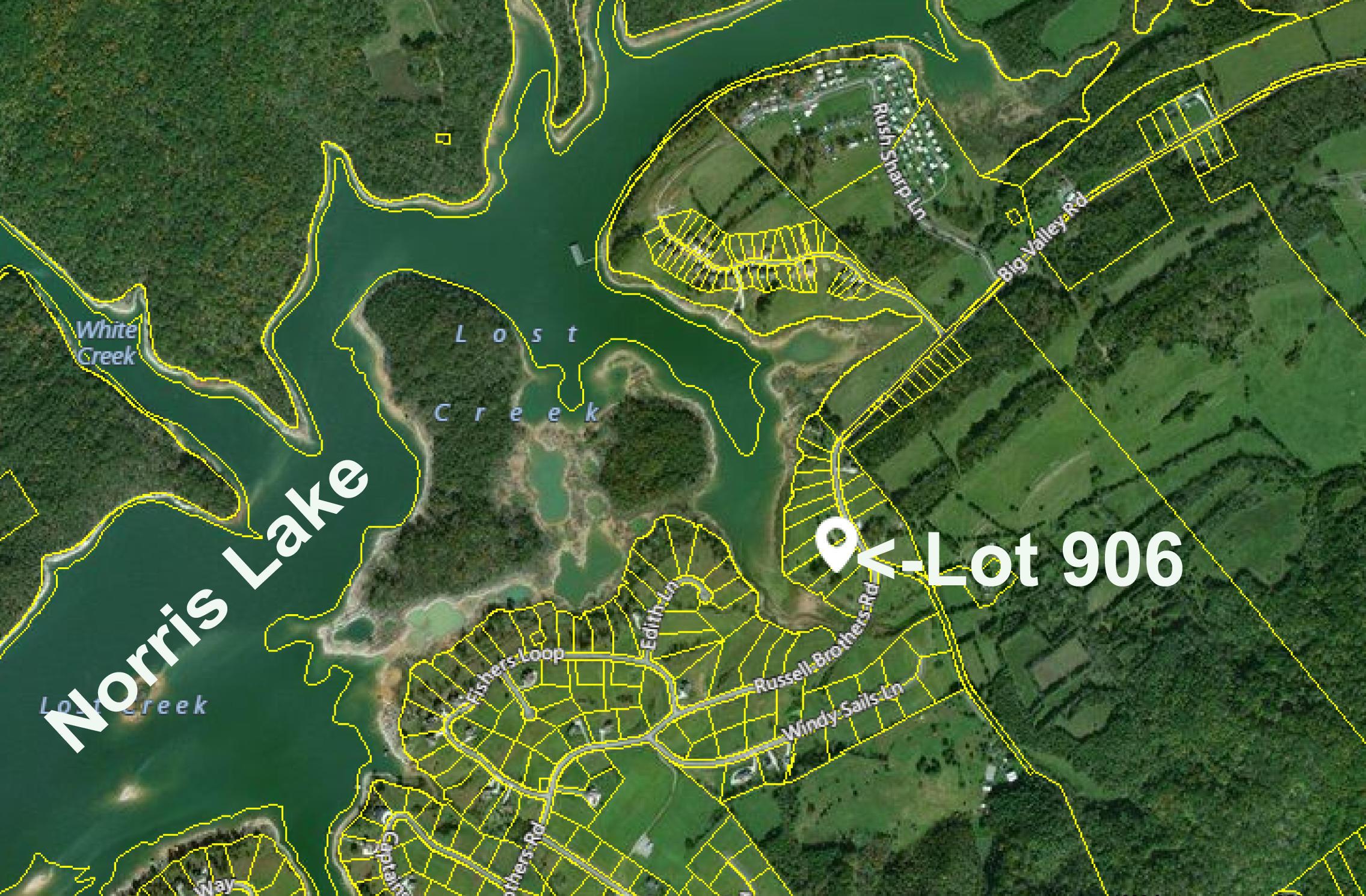Lot 906 Big Valley Rd: