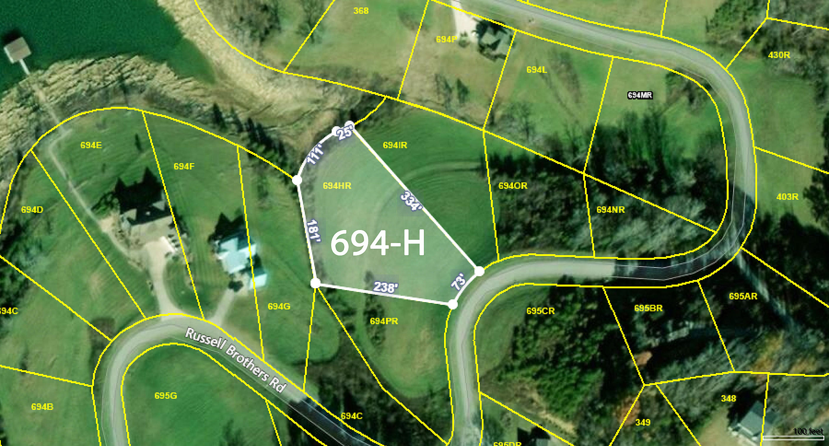 Lot 694-H Russell Brothers Rd: