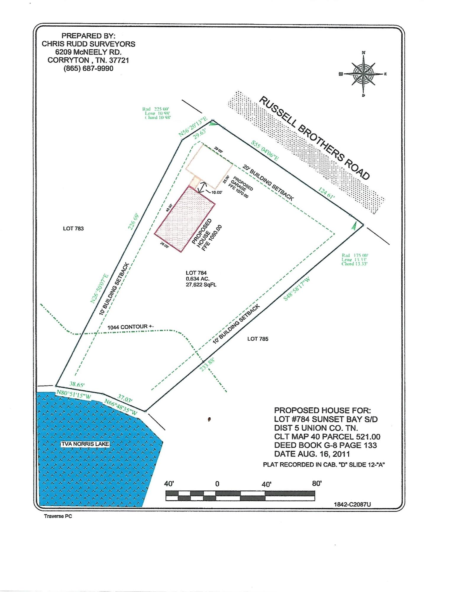 Lot 784 Russell Brothers Rd: