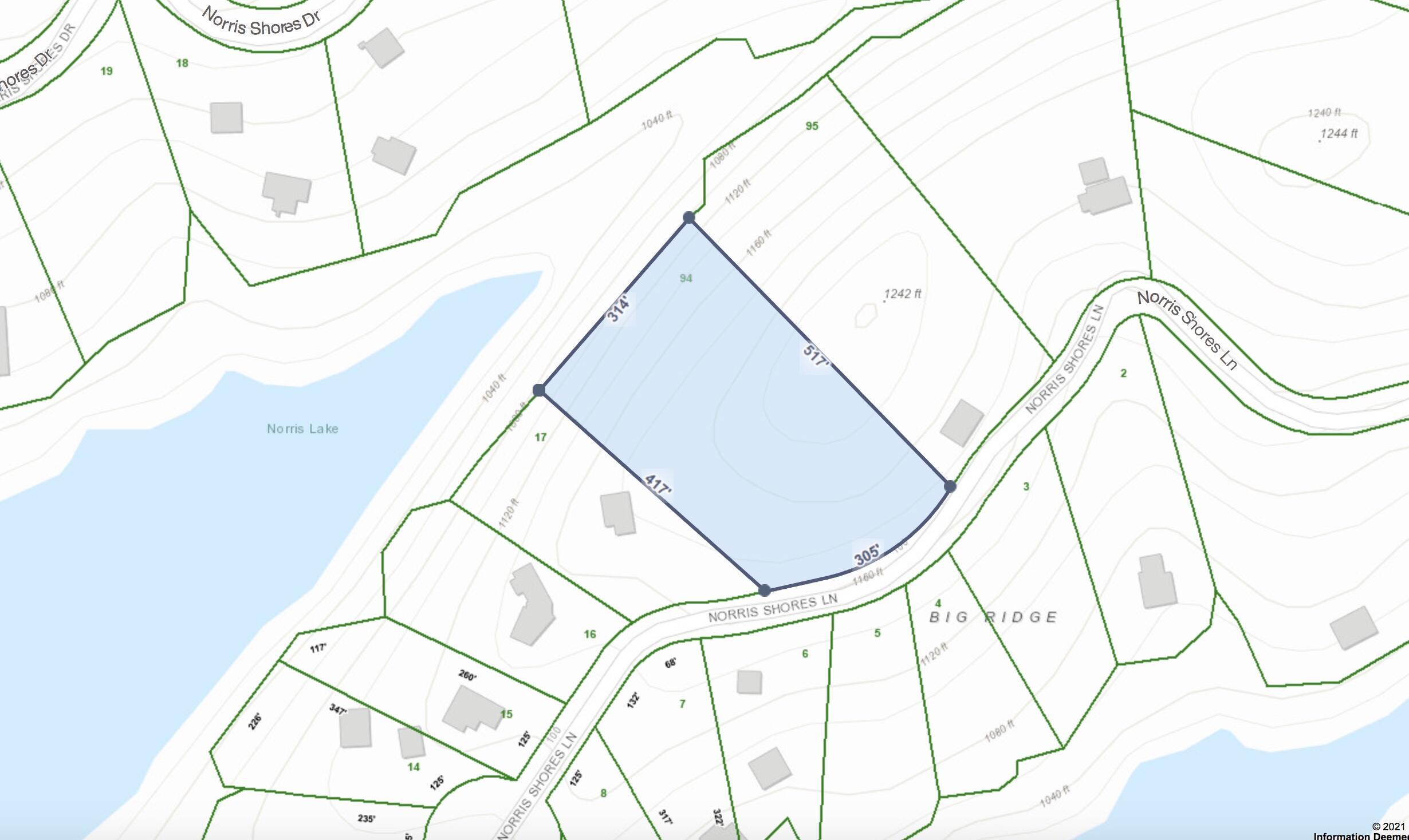 Lot 94 Norris Shores Ln:
