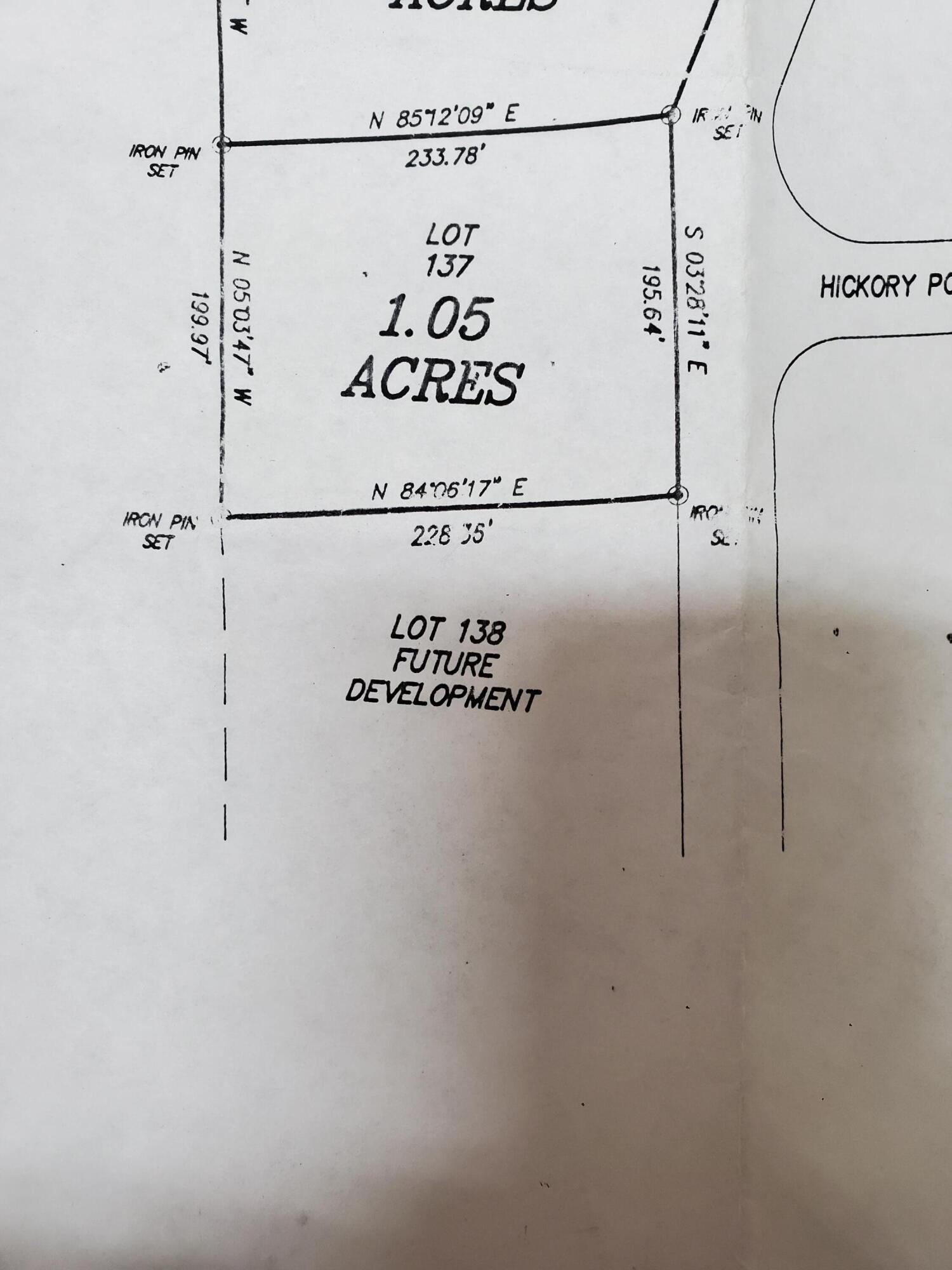 Lot 137, Hickory Pointe Lane: