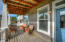 361 Bella Beach Dr, Depoe Bay, OR 97341 - Covered sitting porch