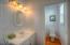361 Bella Beach Dr, Depoe Bay, OR 97341 - Main level bathroom