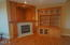 250 NE Spring Ave, Depoe Bay, OR 97341 - Fireplace - Builtin Cabinets