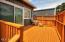 1055 SW Mark St, Newport, OR 97365 - Back deck