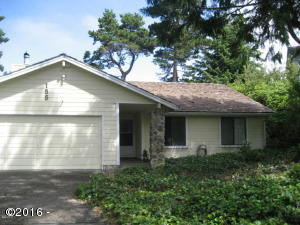 155 Lancer, Gleneden Beach, OR 97388 - From the Street