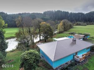 14034 E Alsea Hwy, Tidewater, OR 97390 - Front of house
