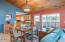 4510 NE 42nd St., Neotsu, OR 97364 - Dining Area with Sliders Lake Front Deck