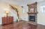 2753 SW Coast Ave, Lincoln City, OR 97367 - Beautiful wood floors and gas fireplace
