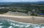 , South Beach, OR 97366 - Aerial view from ocean