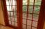 831 NE Lakewood Dr, Newport, OR 97365 - French doors to deck