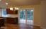 4171 SE Inlet Ave, Lincoln City, OR 97367 - Dining to deck and tree view