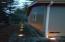 537 Nw Skyline Drive, Toledo, OR 97391 - Side yard dusk