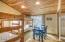5760 NE Logan Rd, Lincoln City, OR 97367 - Upper Bedroom w/Slider to Large Deck