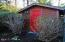 2485 SW Fairway Cir, Waldport, OR 97394 - Garden shed back yard