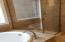 4171 SE Inlet Ave, Lincoln City, OR 97367 - master bath tub and tiled shower