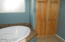 210 NW Grinstead St, Siletz, OR 97380 - Master bath