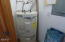 1460 NW Deer Dr, Toledo, OR 97391 - Strapped water heater