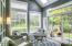 5710 SW Barnacle Ct, Newport, OR 97366 - Enclosed solarium