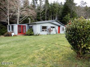 12881 SE Elderberry Drive, South Beach, OR 97366 - Front of home