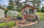 780 NW Grouse St, Seal Rock, OR 97376 - Charming Garden Shed and Greenhouse