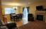 2915 SW Beach Ave, Lincoln City, OR 97367 - Living room with gas fireplace