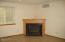 2095 NE Tide Ave, Lincoln City, OR 97367 - Gas fireplace at family room