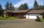 2163 S Drift Creek Rd, Lincoln City, OR 97367 - West Elevation w/covered deck