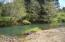 2163 S Drift Creek Rd, Lincoln City, OR 97367 - Waterfall across the creek