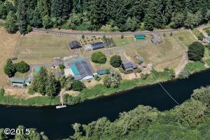 1636 Little Switzerland Rd, Tidewater, OR 97390 - Aerial View