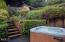 75 Boiler Bay St, Depoe Bay, OR 97341 - Jacuzzi/Landscaped Yard