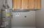 47 NE Williams Ave, Depoe Bay, OR 97341 - Laundry Closet
