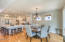 5615 SW Arbor Dr, South Beach, OR 97366 - Dining/kitchen