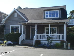 350 Bella Beach Dr., Depoe Bay, OR 97341 - Front of Home