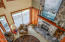 14226 S Coast Hwy, South Beach, OR 97366 - Looking down onto living room