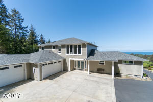 6015 Pacific Overlook Drive, Neskowin, OR 97149 - Exterior front of Home