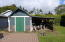 120 Lorraine St, Gleneden Beach, OR 97388 - Storage shed in rear yard