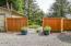 3700 NE Megginson St, Newport, OR 97365 - Gate to yard