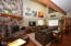 202 N Deer Hill Dr, Waldport, OR 97394 - Living room with fireplace