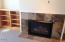 5904 Barefoot Ln, Pacific City, OR 97135 - Fireplace in Living Room