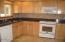 5870 El Mar Ave, Gleneden Beach, OR 97388 - Kitchen w/custom cabinets
