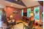 381 Maple Dr, Otis, OR 97368 - Cabin Living Room